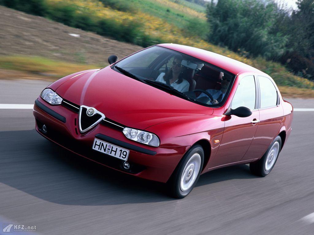 Alfa-Romeo 156 Foto