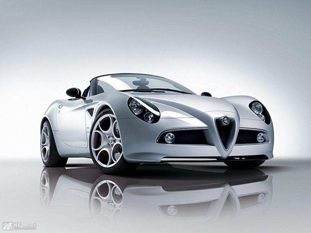 Alfa Romeo 8C Bild