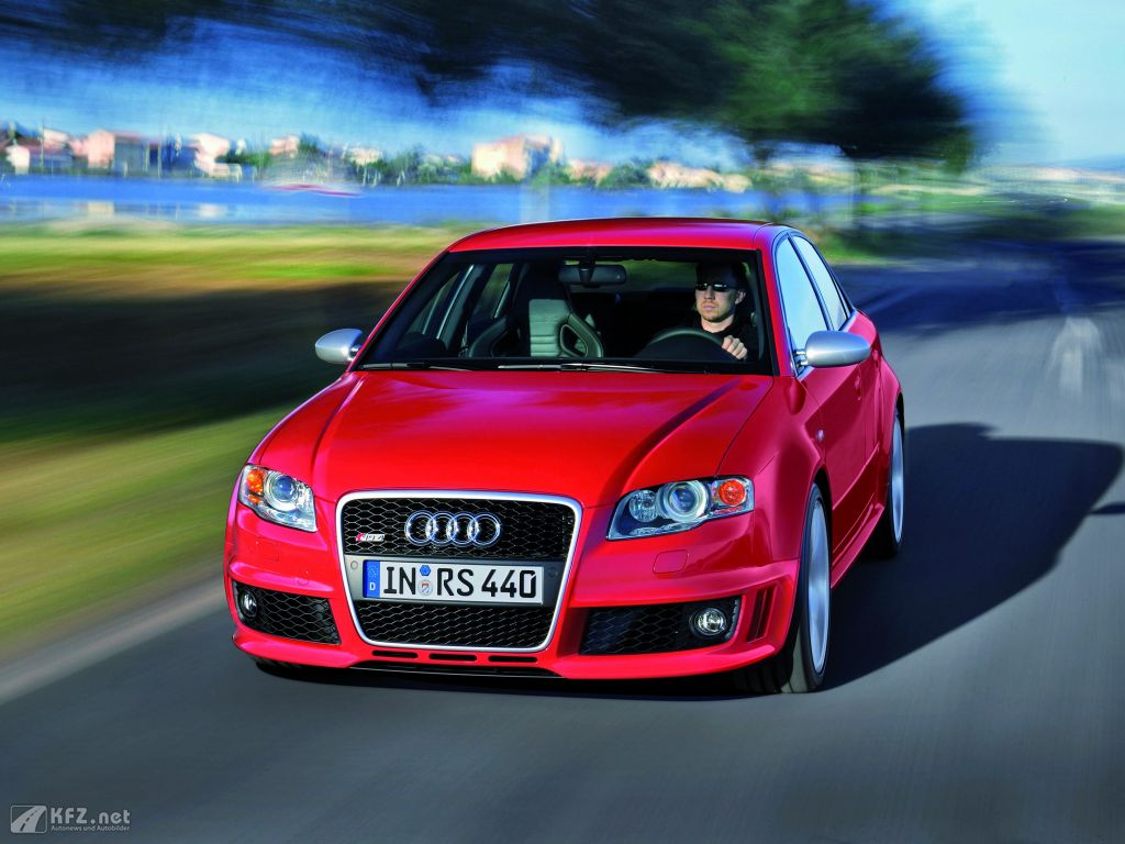 Audi RS4 Bild