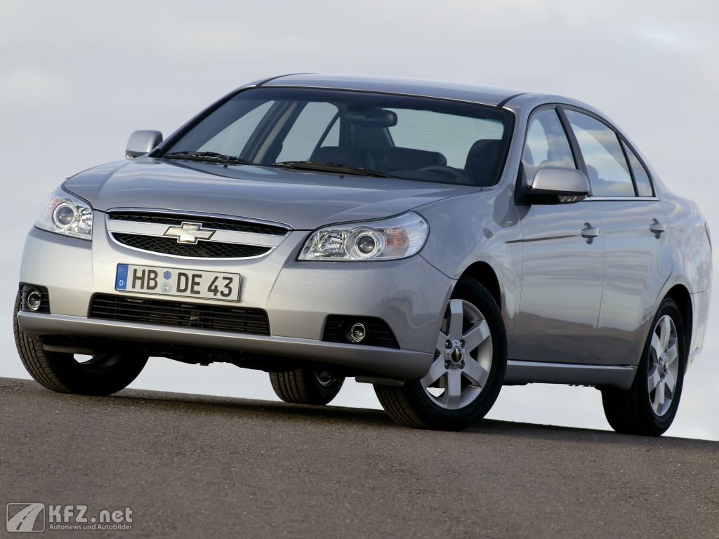 Chevrolet Epica Fotos