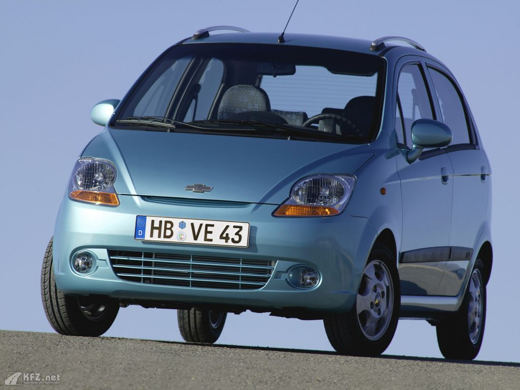 Chevrolet Matiz Fotos