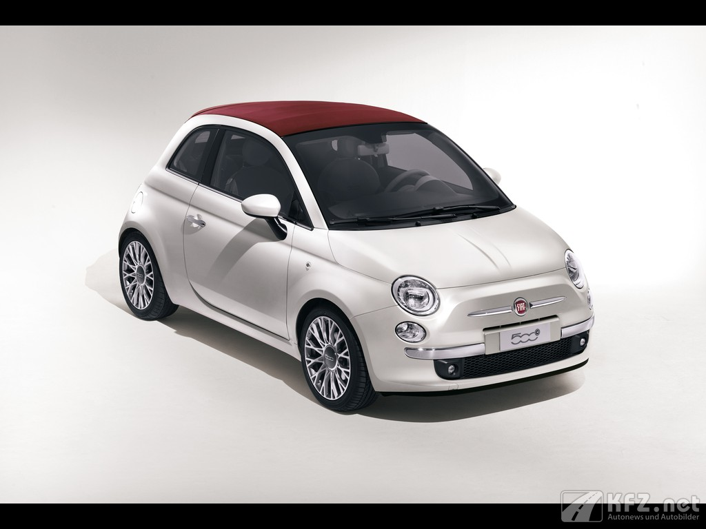 Fiat 500 Bild