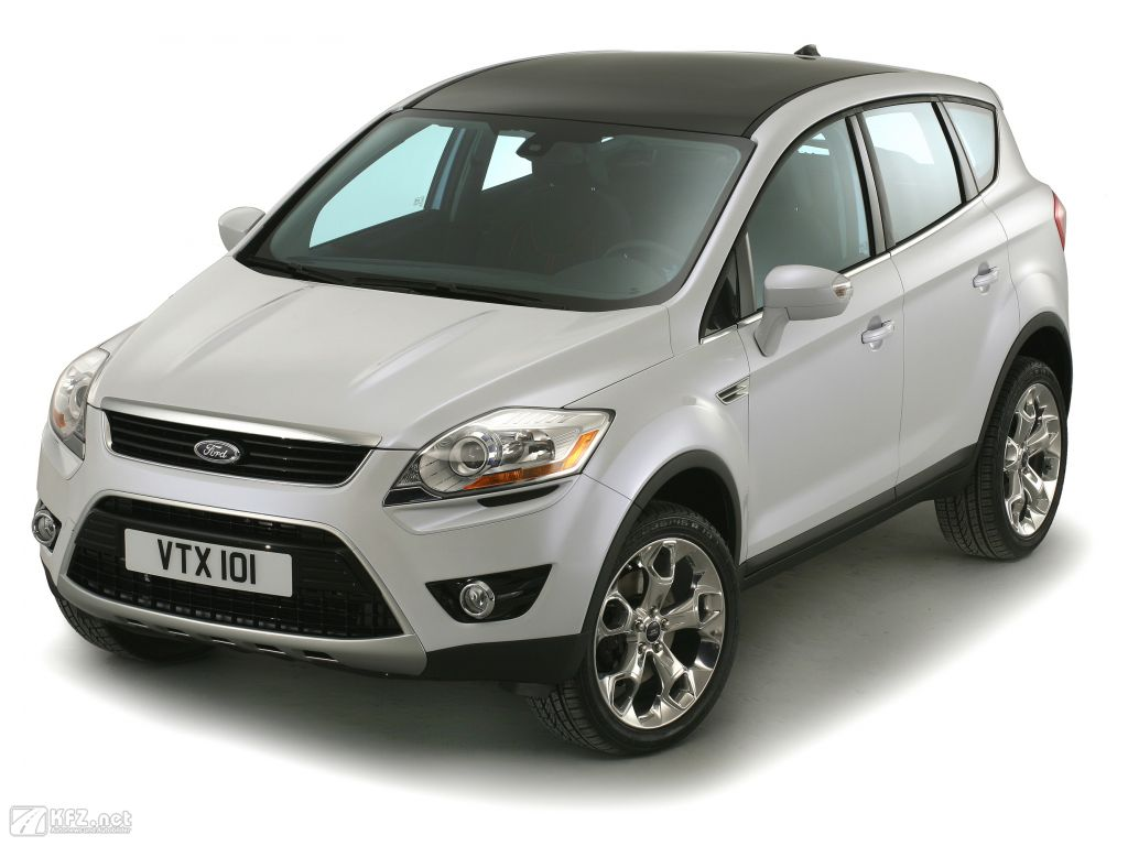 ford kuga bilder ein 4x4 crossover gel ndewagen. Black Bedroom Furniture Sets. Home Design Ideas