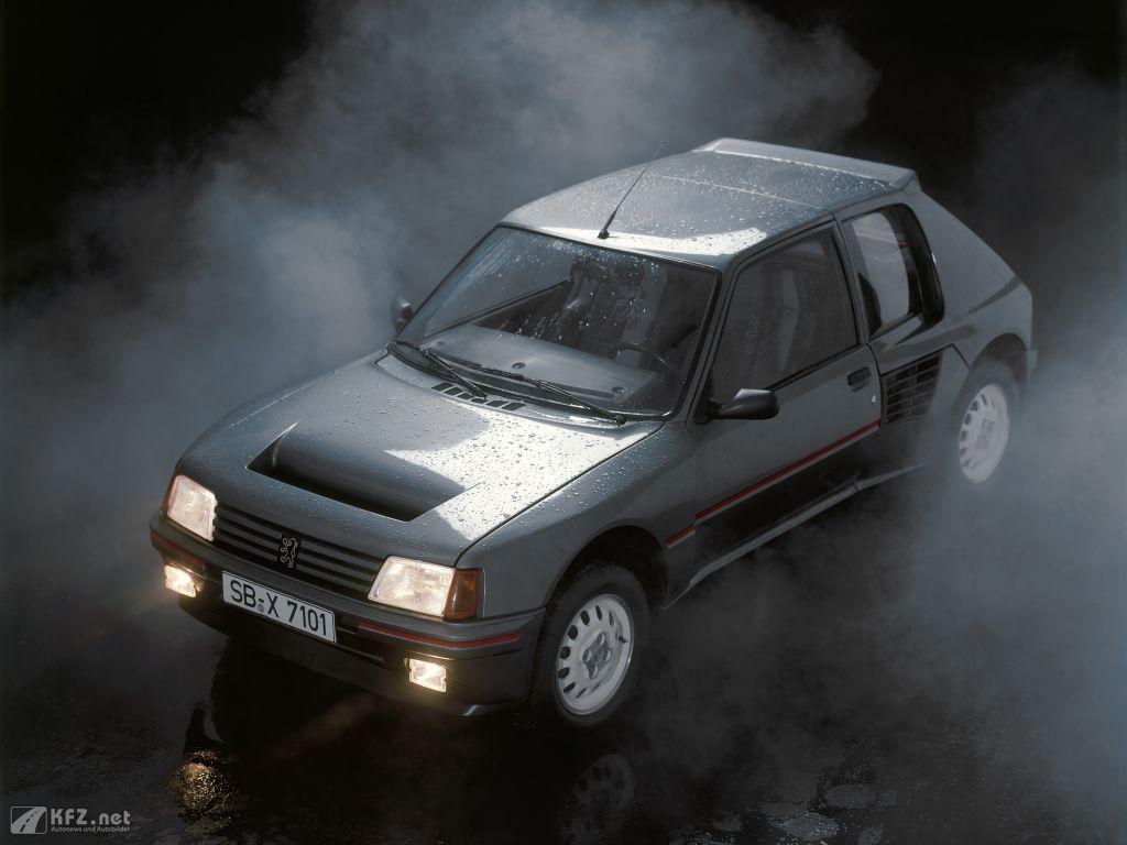 Peugeot 205 Bild