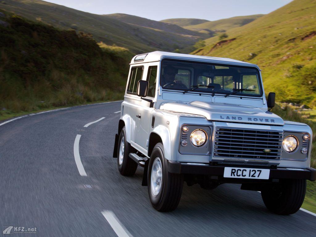 Land Rover Defender Foto