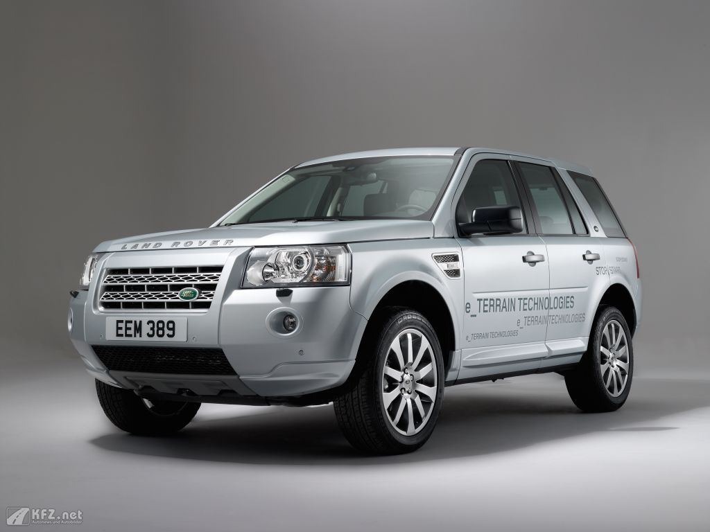land rover freelander 2 fotos offroader mit stop start system. Black Bedroom Furniture Sets. Home Design Ideas