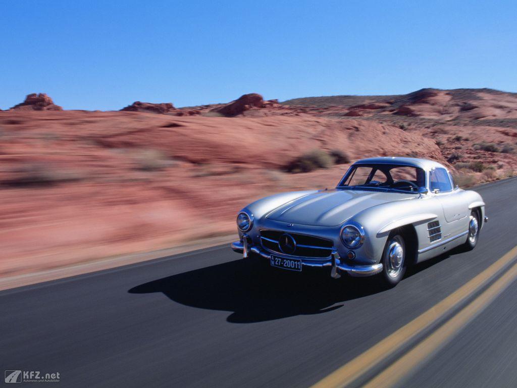 Mercedes 300 SL Foto