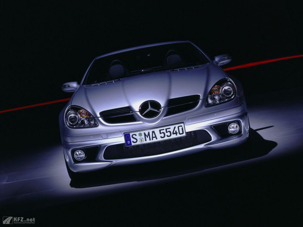 Mercedes SLK Foto