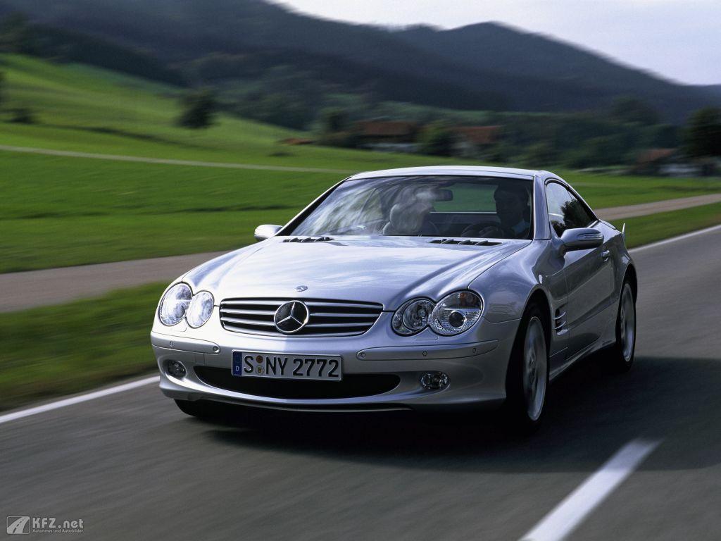 Mercedes SL-Klasse Foto