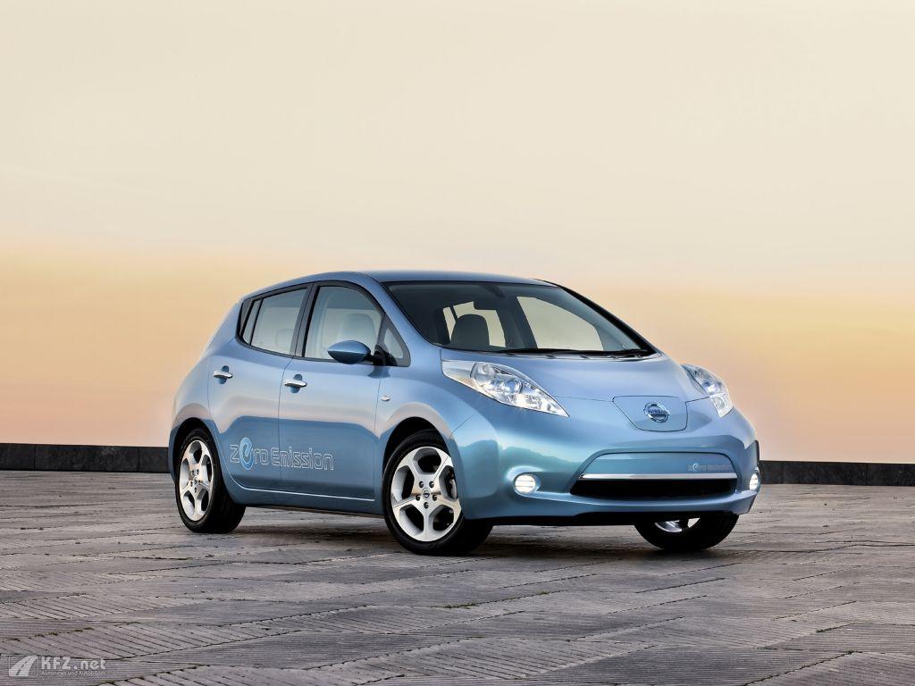 nissan leaf bilder das elektroauto gegen diesel oder hybrid. Black Bedroom Furniture Sets. Home Design Ideas