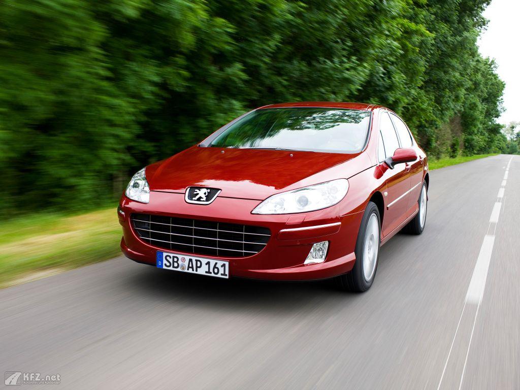 Peugeot 407 Foto