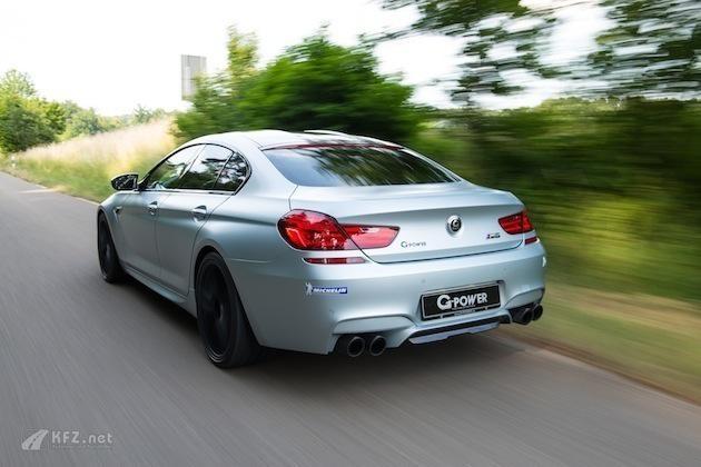 bmw m6 gran coupé Heck