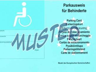 Behindertenausweis-Parken-Aussen