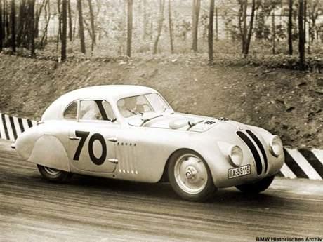 Alter BMW Rennwagen
