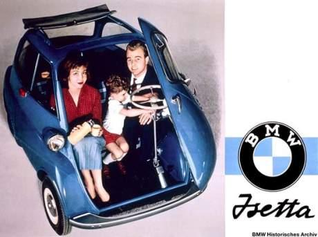 Der BMW Isetta Kleinwagen