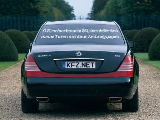Maybach Autospruch