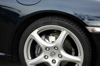 Tallano Feinpartikel Staubsauger auf einem Porsche