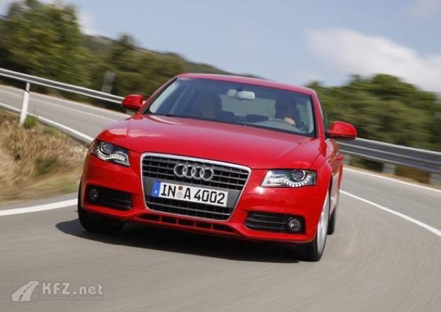 Audi A4 Multitronic Rot Foto
