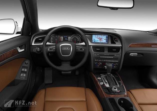 Audi A4 Multitronic Interieur