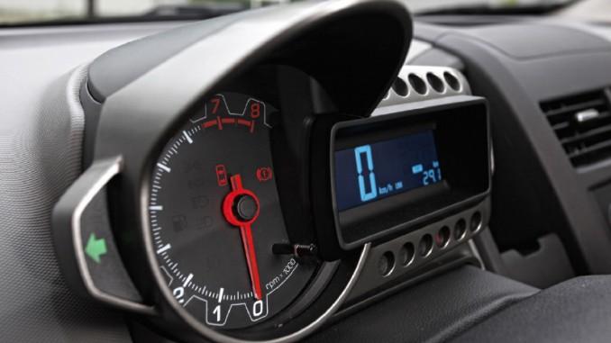 Bild vom Chevrolet Aveo Tacho