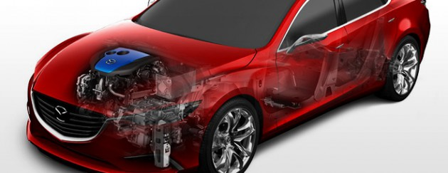 i-ELOOP Bremssystem von Mazda