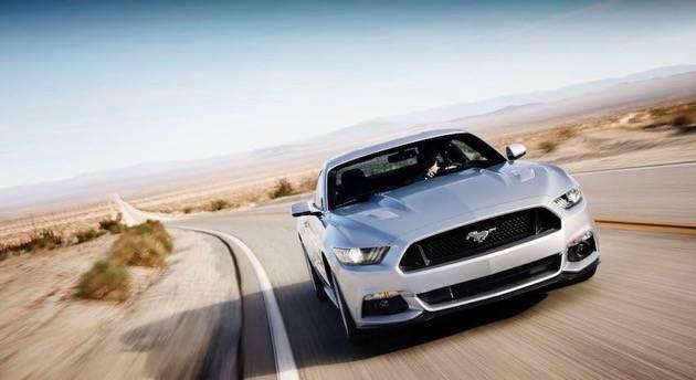 Ford Mustang Vorne