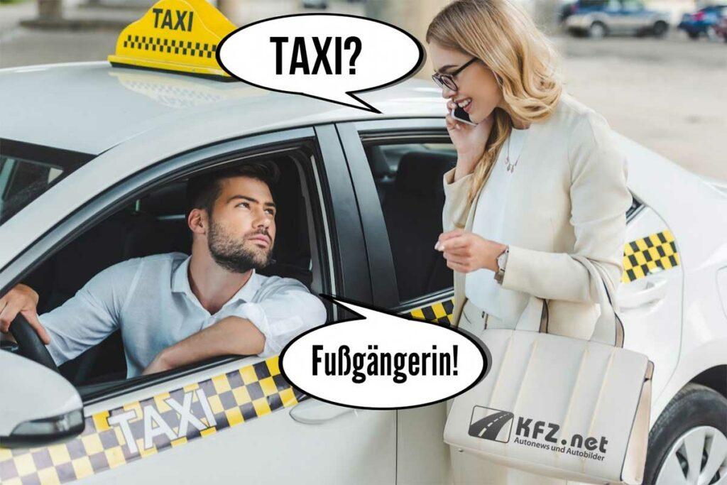 Taxi Witz