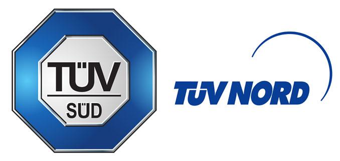 TÜV Logos
