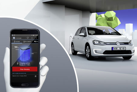 Volkswagen Infotainment Foto