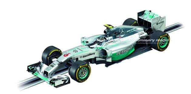 Carrera DIGITAL 132_Mercedes Benz F1 W05 Hybrid N Rosberg No6