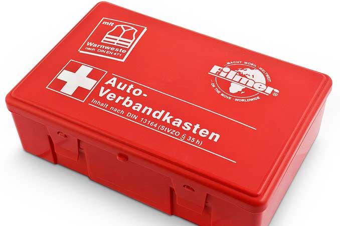 Foto Roter Verbandskasten