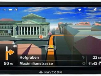 Navigon Screenshot