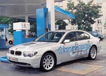 BMW Wasserstoffauto