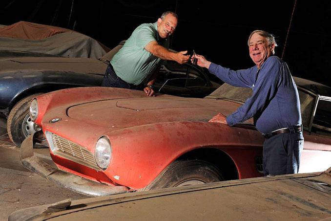 Foto: Elvis Presleys Roter BMW 507