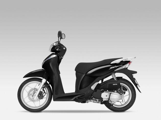 Foto: Honda SH Mode 125 Schwarz