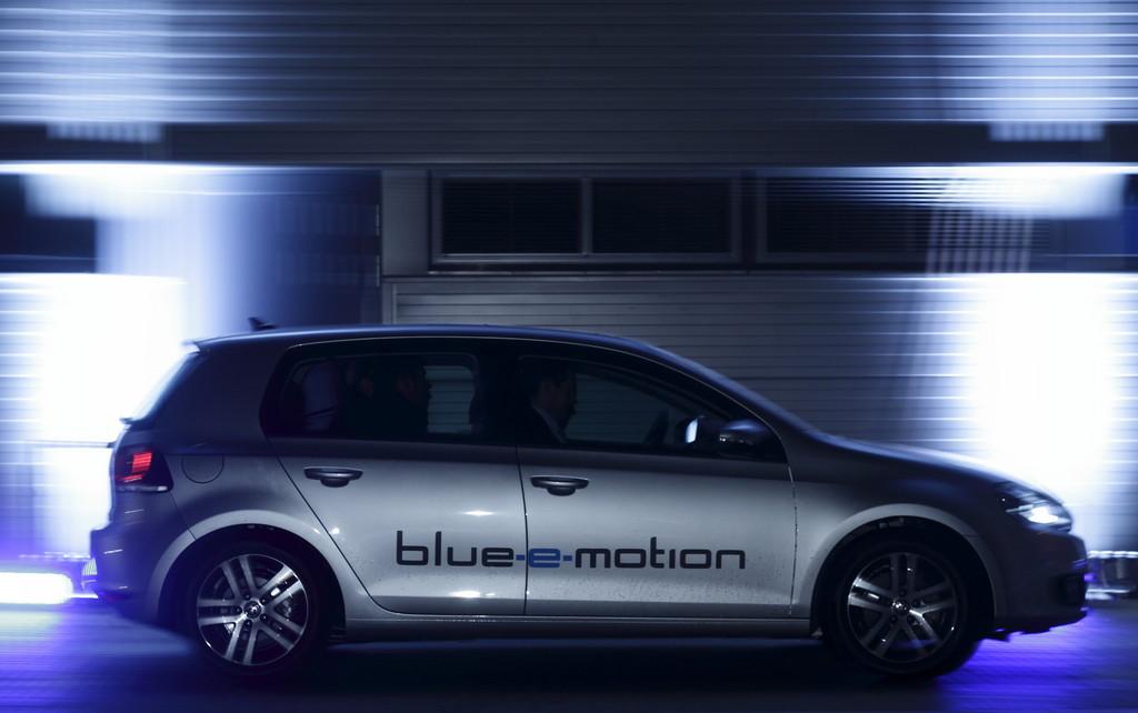 Volkswagen Golf Blue-e-Motion Foto