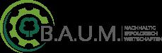 (B.A.U.M.) e.V. Logo