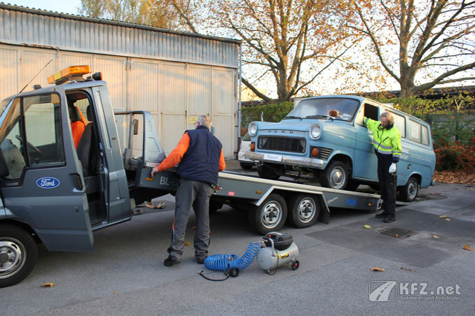Ford Transit restauration