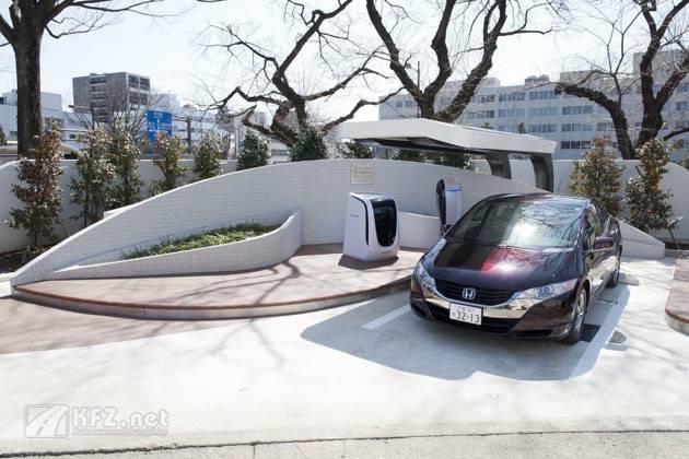 Honda Solar Wasserstoff Tankstelle