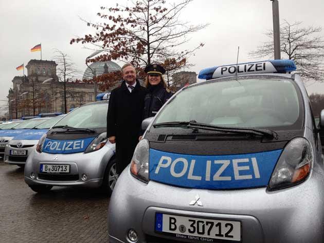 Frank Henkel und Margarete Koppers Foto