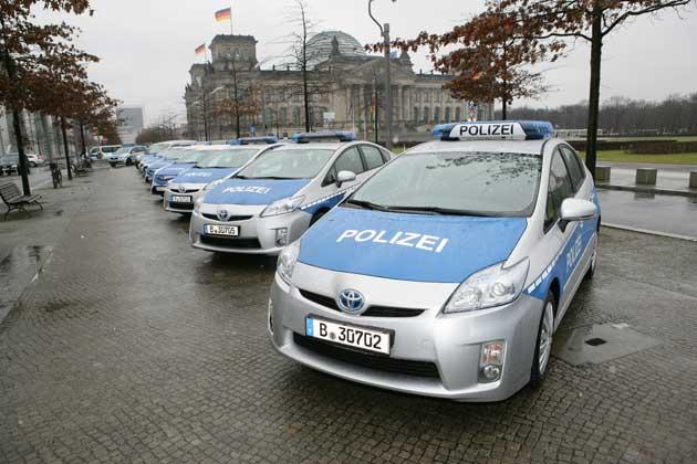 Berliner Polizei Toyota Prius Foto