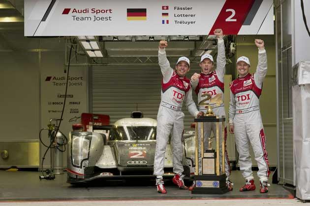 Audi Le Mans Sieg