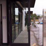 Foto Eingang der Zulassungsstelle Coburg