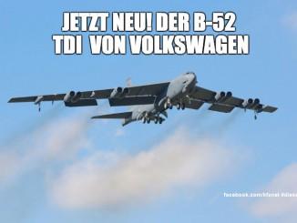 Dieselgate B52 TDI von VW