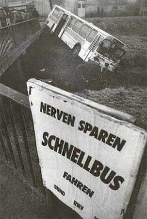 Nerven sparen Schnellbus sparen