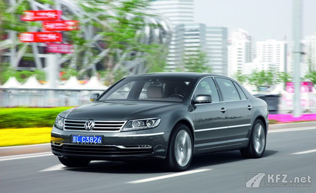 Foto: Volkswagen Phaeton in China