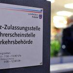 Eingang der Kfz-Zulassungsstelle Fulda