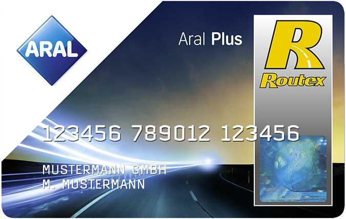 Bild der ARAL Plus Tankkarte