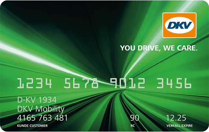 DKV Tankkarte Orange