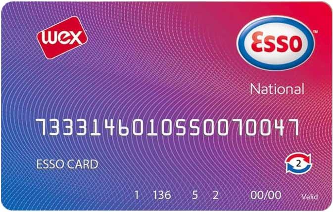 Bild Esso Tankkarte National